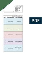 List Informasi Skripsi Produksi