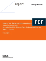 Raising Your Return on Innovation Investment