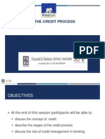 Overview of the Credit Process