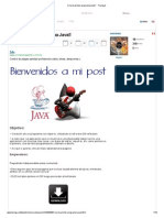 Crea Tu Primer Programa Java!! - Taringa!