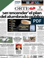 Periódico Norte de Ciudad Juárez edición impresa del 6 abril del 2014