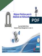 Presentacion 2 1630 1700 Mejores Practicas Para La Medicion de Hidrocarburos Emerson