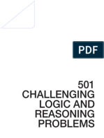 501 challenging logic reasoning problems 2nd edition 2005