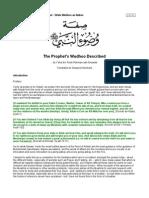 Prophets Wudhu Described