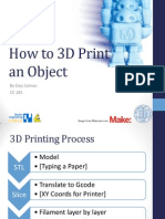 How to 3D Print an Object