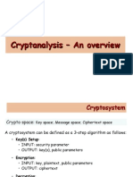 L03 Cryptanalysis Overview