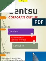 Dentsu Corp. Culture