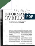 Hemp _2009_ Death by Information Overload