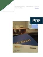 Resumen de la Jornada ARS_Civilis (IPCE)