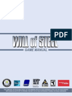 Will of Steel Game Manual