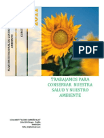 Plan Institucional de Gestion Ambiental