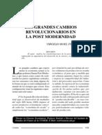Virgilio Roel - Los Grandes Cambios Revolucionarios en La Post Modernidad