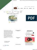 Salade de pâtes - courgette et menthe