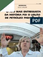 Entrevista Ildo Sauer - Petrobras e Energia Fraudes