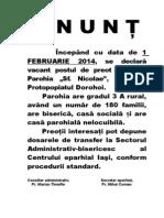 anunt_calinesti