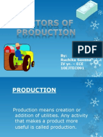 Factors of Production-presentation