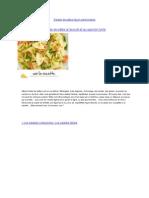 Salade de pâtes façon piémontaise
