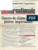L'Internationale, No. 9, July/August 1984