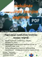Molekulinės kinetinės teorijos pagrindai