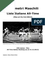 Liste Italiane All Time 100m