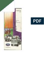 Manual Del Propietario Ford Fiesta (2008-2010)
