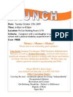 Launch Flyer Oct 09