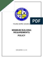 Building - Minimum Building Requirements