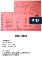 Tetracicline Cloramfenicol Glicopept Sulfamide