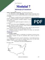 Modulul 7 - Informatie Si Comunicare