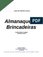 Almanaque de Brincadeiras Versc3a3o Revista e Corrigida