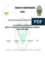 Memorandum of Understanding - Socah