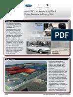 FactSheet - Wixom Renewable Energy Plant