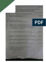 AMT VTU QUESTION PAPERS MTECH