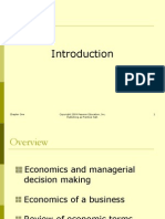 Managerial economics chapter 1