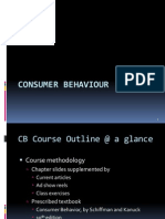 Introduction to Consumer Behavior