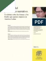 Articulo Mas Alla Del Periodismo Narrativo