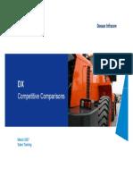 DX Competitive Comparison - 070300