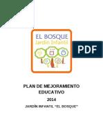 Plan de Mejoramiento Educativo 2014