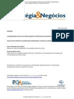 A PROPRIEDADE INTELECTUAL COMO ELEMENTO ESTRATÉGICO DA GESTÃO DO CONHECIMENTO
