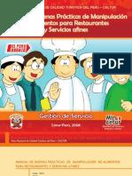 Manual de Buenas Practicas de Manipulacion de Alimentos Para Restaurantes y Servic