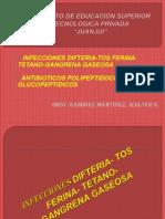 8ss Infecciones Dpt, Gangrena Gaseosa Poli Glucopeptidos