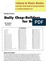 Daily Chop-Builders for Bass - Josquin Des Pres