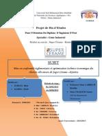 Rapport de stage de fin d'étude Hind R'BIGUI & Zineb KARMA-Graduate Project