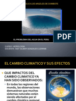 Hidrologia Clase 5 Cambio Climatico y Rr Hh