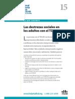 Destrezas Sociales en ADD