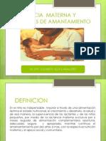 Lactancia Materna y Tecnicas de Amantamiento