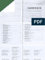 Sacrificium - Libretto