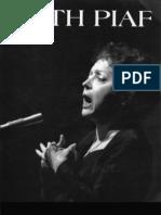 Edith Piaf Sheet Music Livre d'Or