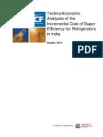 Techno-economic Feasibility Study - Super Efficiency in Refrigerators