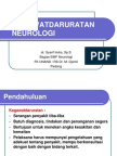 Kegawatdaruratan Neurologi